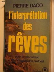 livre l interpretation des reves daco p acheter occasion 13 05 1996. Black Bedroom Furniture Sets. Home Design Ideas