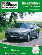 Rta 617.1 Renault Safrane Ph.2 E/Td (4/5 Cyl)>1997 - Couverture - Format classique