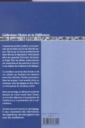 Assistante Sociale Scolaire - 4ème de couverture - Format classique