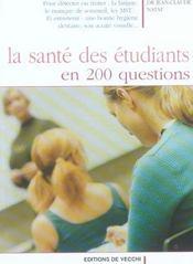 Sante Des Etudiants En 200 Questions (La) - Intérieur - Format classique