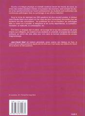 Sante Des Etudiants En 200 Questions (La) - 4ème de couverture - Format classique