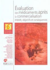 Evaluation Des Medicaments Apres La Commercialisation - Intérieur - Format classique