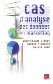 Cas d'analyse de donnees en marketing - Couverture - Format classique
