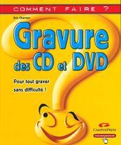 Gravure Des Cd Et Dvd - Intérieur - Format classique