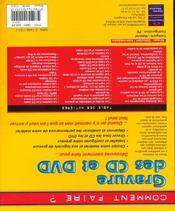 Gravure Des Cd Et Dvd - 4ème de couverture - Format classique
