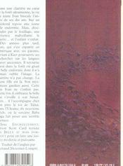 Enchantement - 4ème de couverture - Format classique