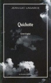 Quichotte - Couverture - Format classique