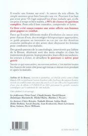 Savoir Pour Guerir ; Vaincre Le Cancer Du Sein - 4ème de couverture - Format classique