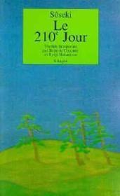 Le deux-cent-dixieme jour - Couverture - Format classique