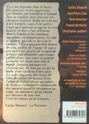 Revue Bifrost N.40 ; Dossier René Reouven - 4ème de couverture - Format classique