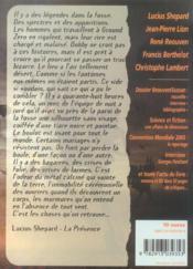 Revue Bifrost T.40; Dossier Rene Reouven - 4ème de couverture - Format classique