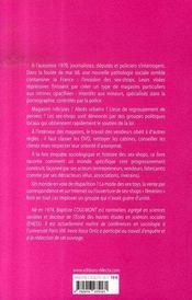 Sex-shops - 4ème de couverture - Format classique