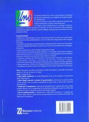 Uno corso communicativo di italiano per stranieri primo livello libro degli exercizi e sint.gram. - 4ème de couverture - Format classique
