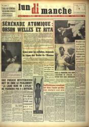 Lundi Dimanche N°40 du 01/05/1948 - Couverture - Format classique