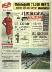 Humanite Dimanche (L') N°810 du 01/03/1964 - Couverture - Format classique