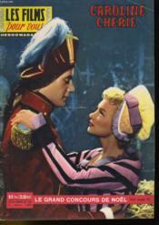DES FILMS POUR VOUS - CARALINE CHERIE - 5eme ANNEE - N°160 - Couverture - Format classique