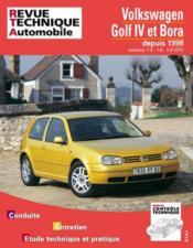 Rta 618.1 Vw Golf Iv Bora Es. 1.4/1.6/1.8 - Couverture - Format classique