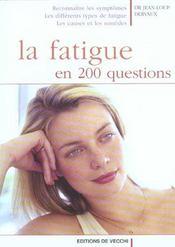 Fatigue En 200 Questions (La) - Intérieur - Format classique