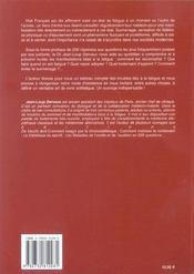 Fatigue En 200 Questions (La) - 4ème de couverture - Format classique