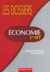 Économie 1re STT - Intérieur - Format classique