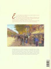 Vincent et van gogh t.1 - 4ème de couverture - Format classique