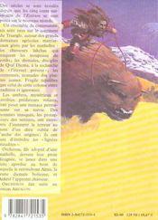 Abzalon t.2 ; orcheron - 4ème de couverture - Format classique
