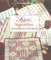 Sajou, Passion Des Alphabets Anciens - Intérieur - Format classique