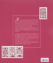 Sajou, Passion Des Alphabets Anciens - 4ème de couverture - Format classique