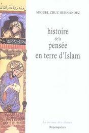 Histoire de la pensée en terre d'Islam - Intérieur - Format classique