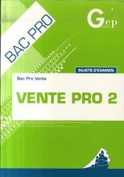 Ventes Pro 2 - Intérieur - Format classique