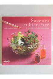 Saveurs et bien-etre ; la cuisine aux huiles essentielles - Couverture - Format classique
