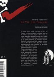 La vie des forçats - 4ème de couverture - Format classique