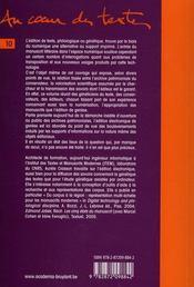 L'édition du manuscrit ; de l'archive de création au scriptorium électronique - 4ème de couverture - Format classique