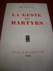 La geste des martyrs