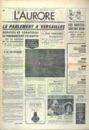 Aurore (L') N°9373 du 21/10/1974 - Couverture - Format classique