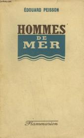 Hommes De Mer. - Couverture - Format classique