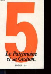 Les Dossiers Du Livre De Banque - Le Patrimoine Et Sa Gestion - Couverture - Format classique