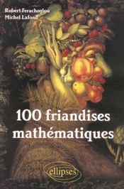 100 Friandises Mathematiques - Intérieur - Format classique