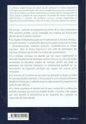 Chimie 1re Annee Pcsi Tome 1 Cours Et Exercices Corriges - 4ème de couverture - Format classique