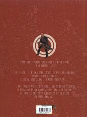 La caste des méta-barons (Dona Vicenta Gabriela) - 4ème de couverture - Format classique