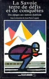 Savoie Terre De Defis - Couverture - Format classique