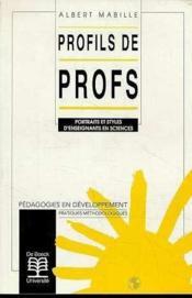 Profils De Profs Portraits Et Styles D'Enseignants En Sciences - Couverture - Format classique