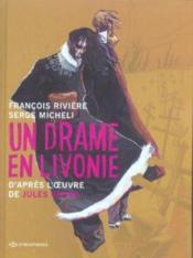 Un drame en livonie - Couverture - Format classique