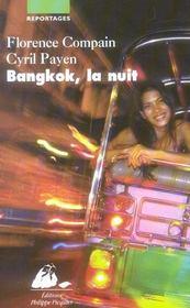 Bangkok, La Nuit - Intérieur - Format classique