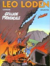 Léo Loden t.4 ; grillade provençale - Intérieur - Format classique