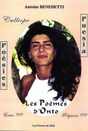 Les Poemes D'Onto - Couverture - Format classique