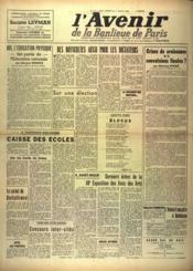 Avenir De La Banlieue De Paris (L') N°117 du 01/05/1948 - Couverture - Format classique