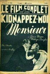 Le Film Complet Du Jeudi N° 2154 - 17e Annee - Kidnappez-Moi Monsieur - Couverture - Format classique
