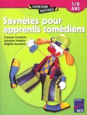 Saynètes pour apprentis comédiens ; 5/8 ans - Intérieur - Format classique
