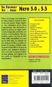 Se Former A Nero 5 Et 5.5 En Un Jour - 4ème de couverture - Format classique